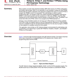 in system programming of bpi prom for pci express technology [ 791 x 1024 Pixel ]