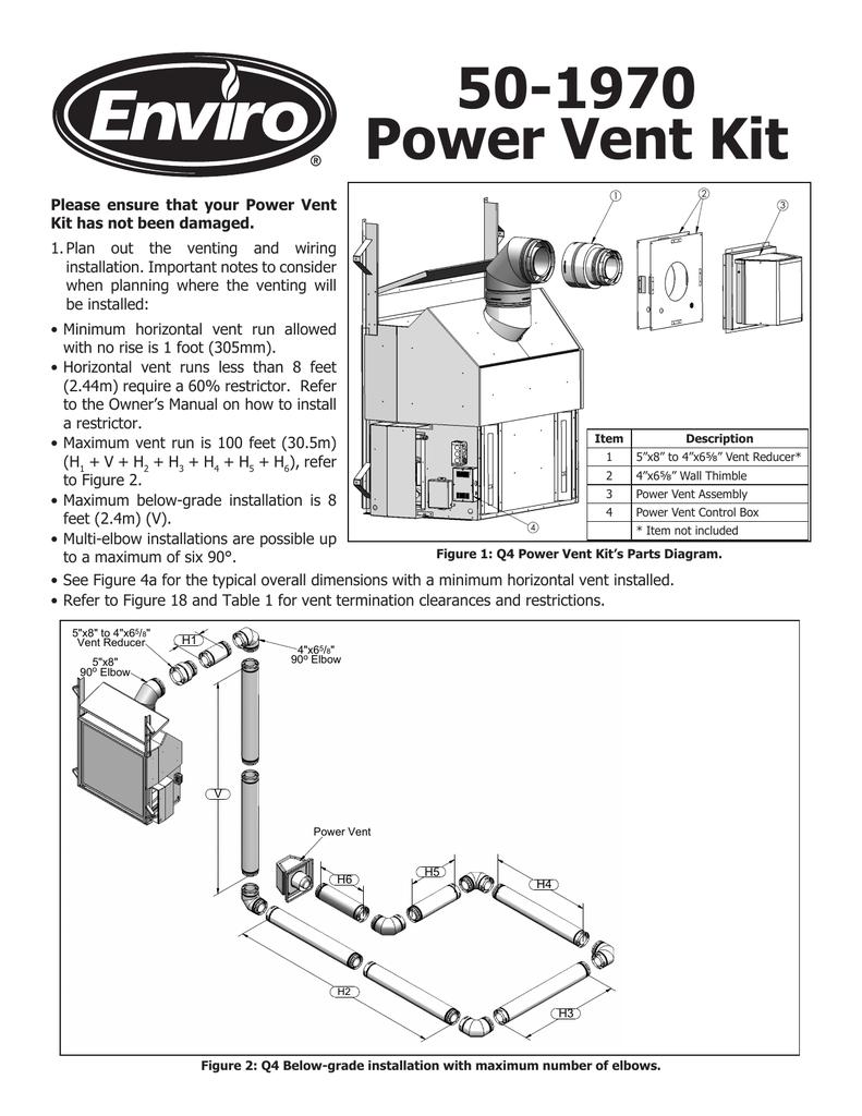 hight resolution of power vent kit