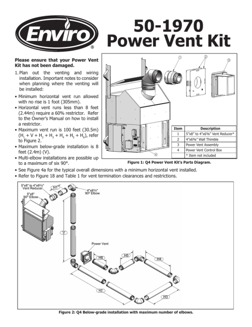 small resolution of power vent kit
