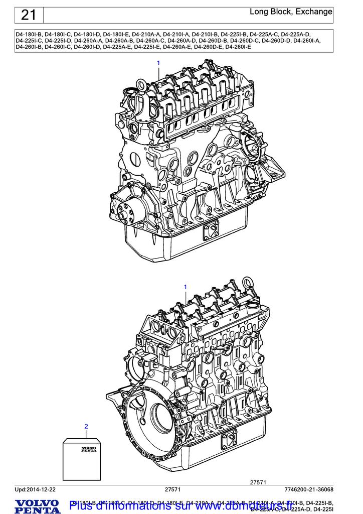 DBMOTEURS-DB-MOTEURS-VOLVO-PENTA-D4-180I-B, D4-180I-C, D4