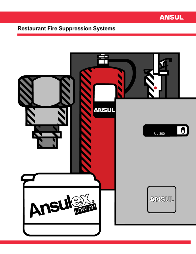 hight resolution of ansul r 102 restaurant fire suppression systems f 8879