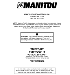 tmp 25 and tmp 5500ht truck mounted forklift parts manual tmp25 sn165123 751863 tmp5500 sn165126 751863 800806end 11 [ 791 x 1024 Pixel ]