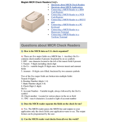 magtek micr check readers questions about micr check readers manualzz com [ 791 x 1024 Pixel ]