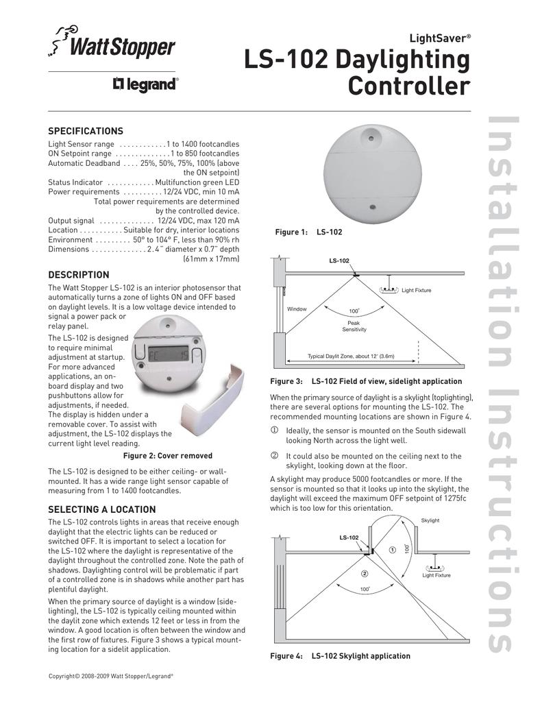 medium resolution of ls 102 installation sheet