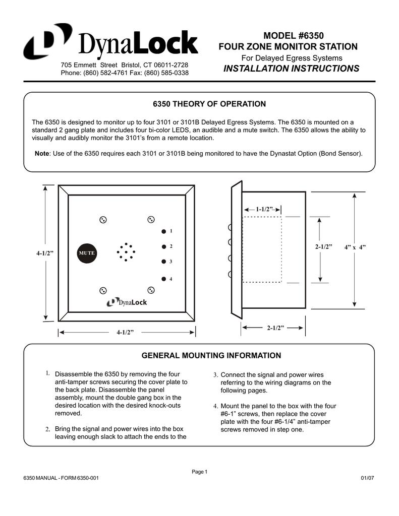 medium resolution of 6350 series installation instructions