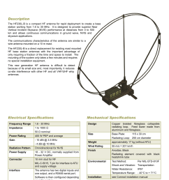 hf230l b hf nvis loop antenna base station [ 1241 x 1754 Pixel ]