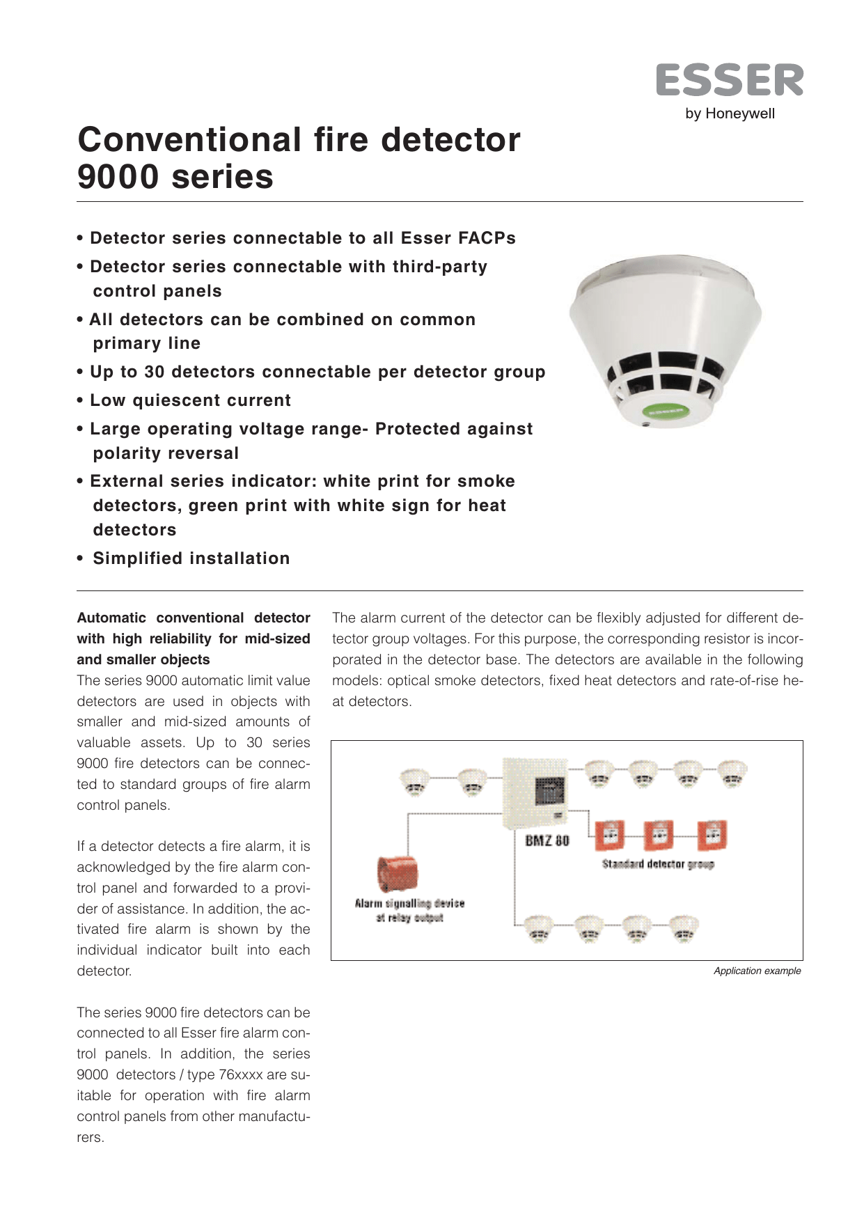 hight resolution of conventional fire detector 9000 series manualzz com esser smoke detector wiring diagram