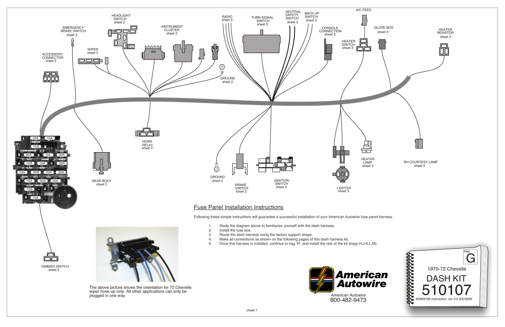 medium resolution of dash kit american autowire