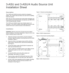 3 asu and 3 asu 4 audio source unit installation sheet [ 1275 x 1651 Pixel ]