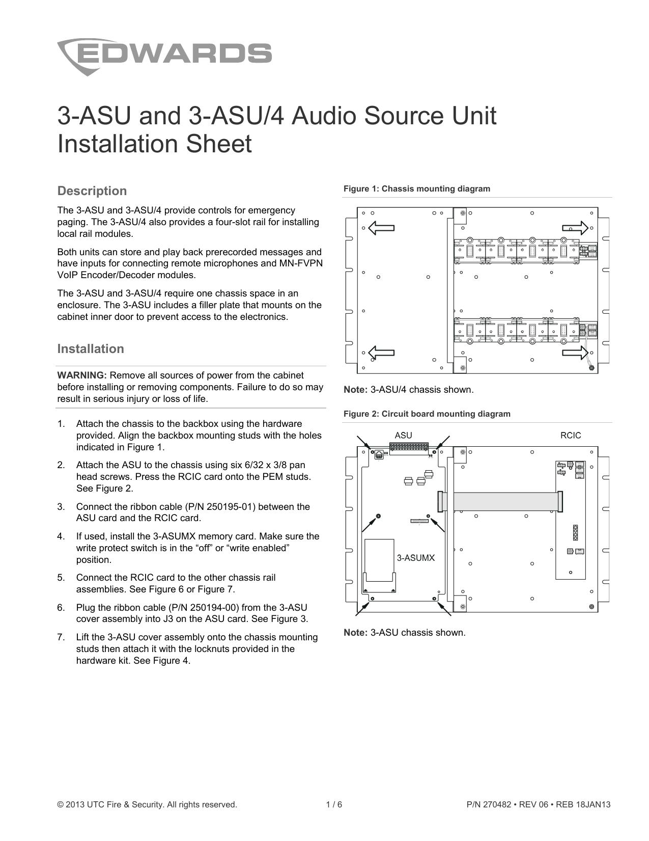 hight resolution of 3 asu and 3 asu 4 audio source unit installation sheet
