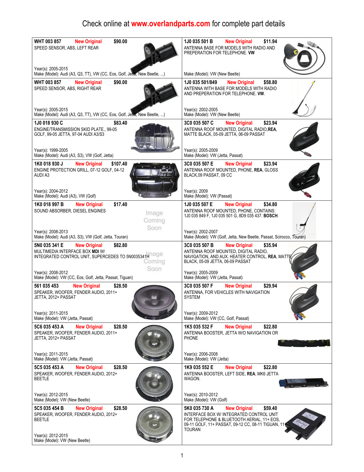 hight resolution of check online at www overlandparts com for complete part details manualzz com