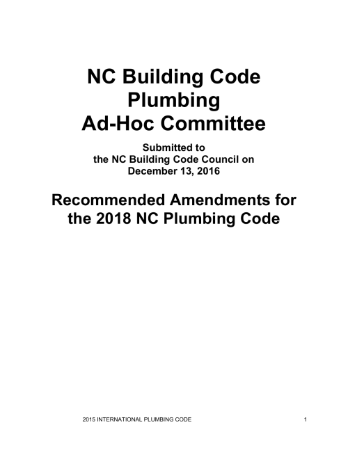 small resolution of 2018 nc plumbing code