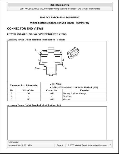 small resolution of 2004 h2 air compressor wiring diagram