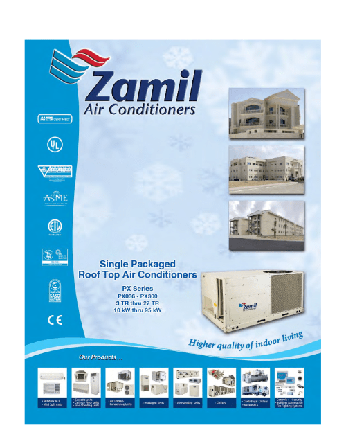small resolution of px series pmd zamil air conditioners