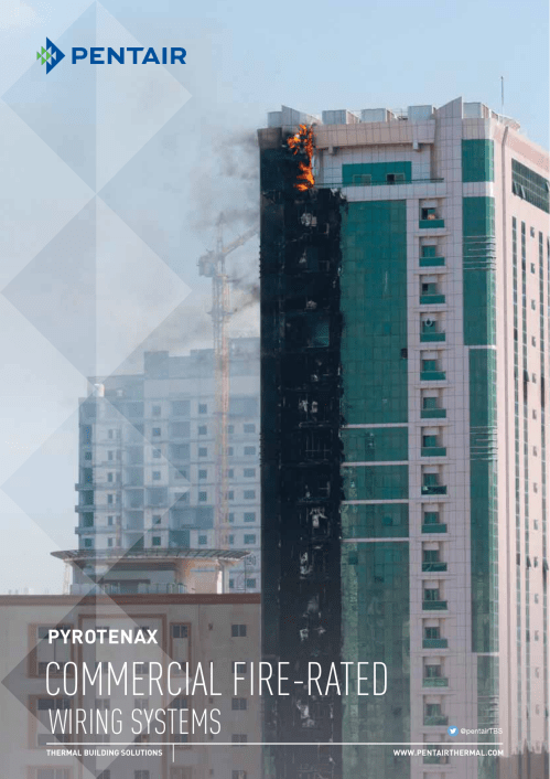 small resolution of commercial fire rated pentair thermal management