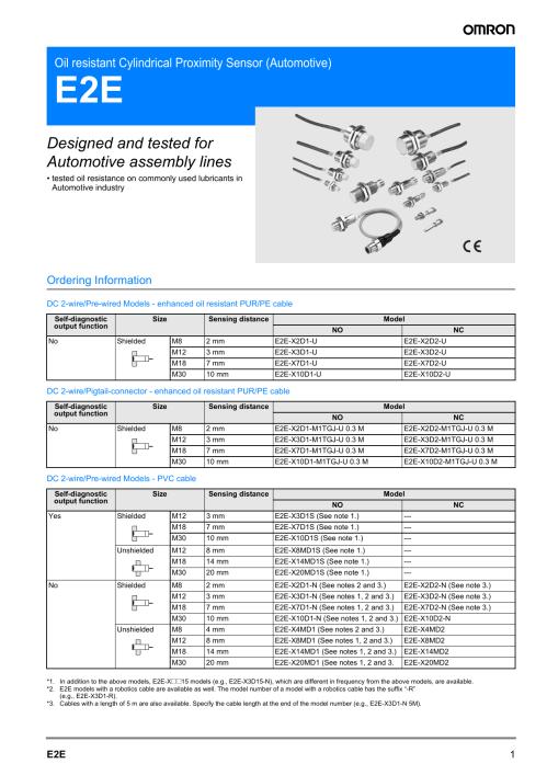 small resolution of e2e x7d1 n datasheet