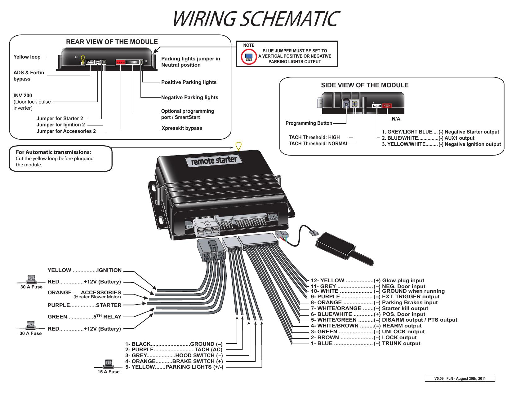Wiring Schematic Schema De Branchement Wiring Schematic