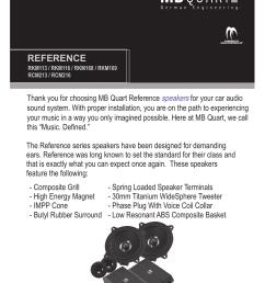 mb quart speakers installation instructions [ 1275 x 1651 Pixel ]