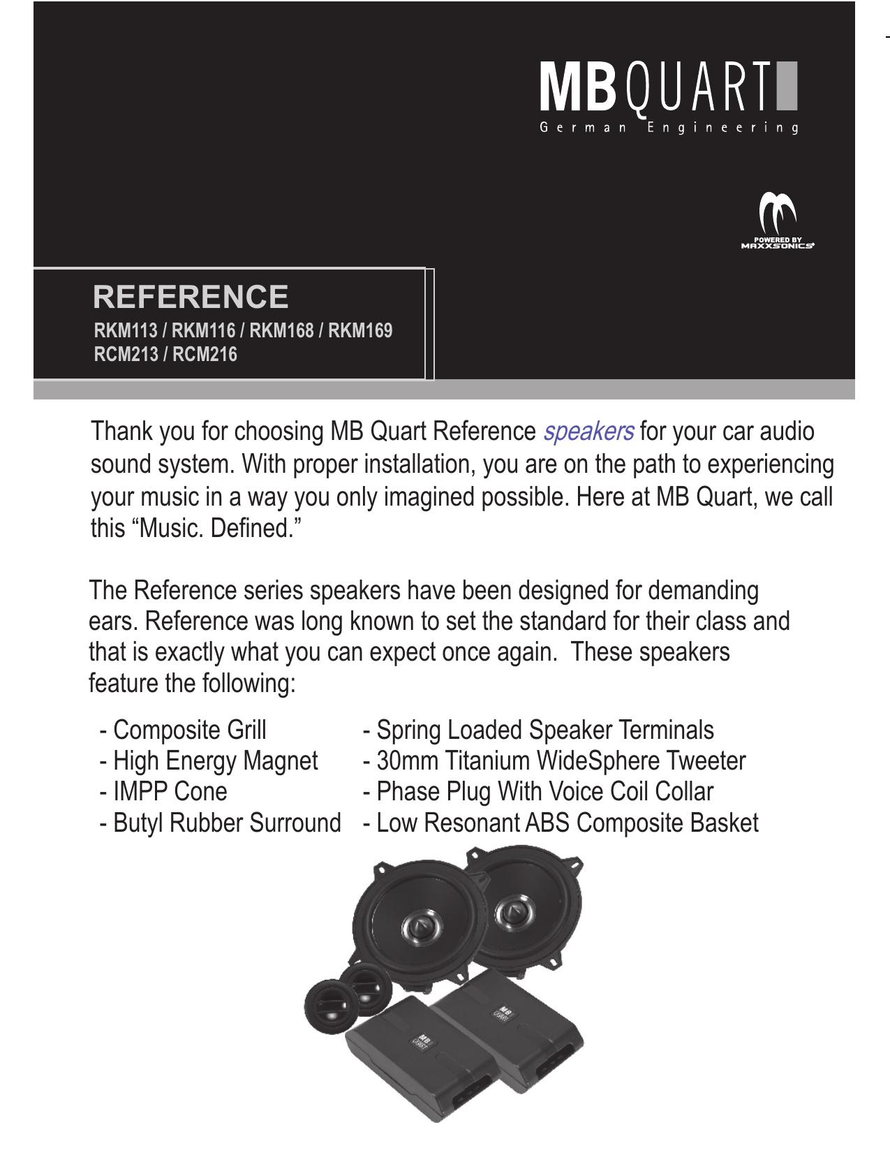 hight resolution of mb quart speakers installation instructions
