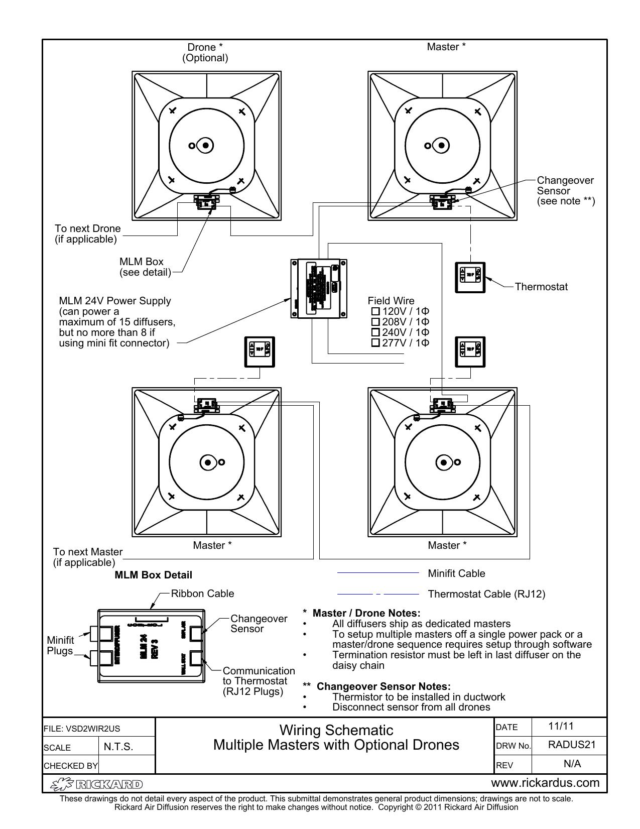 Daisy Chain Schematic Wiring
