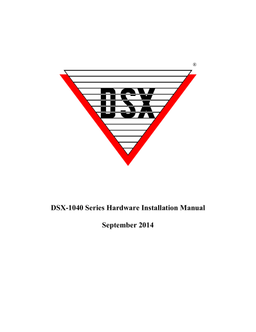 small resolution of dsx 1040 series hardware installation manual september