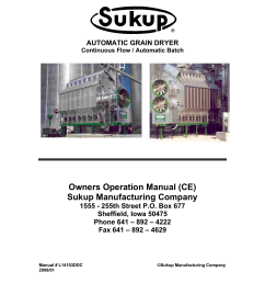 owners operation manual ce sukup manufacturing company [ 1275 x 1651 Pixel ]