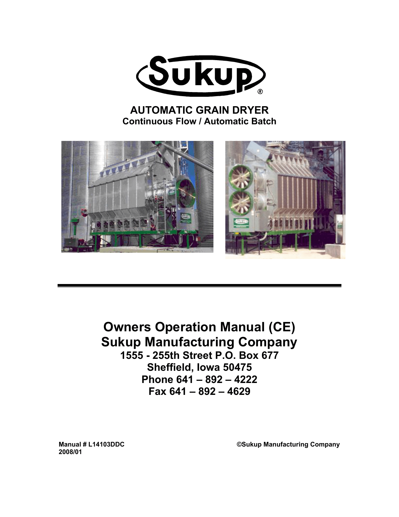 hight resolution of owners operation manual ce sukup manufacturing company