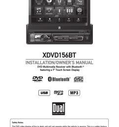xdvd156bt dual electronics [ 875 x 1241 Pixel ]