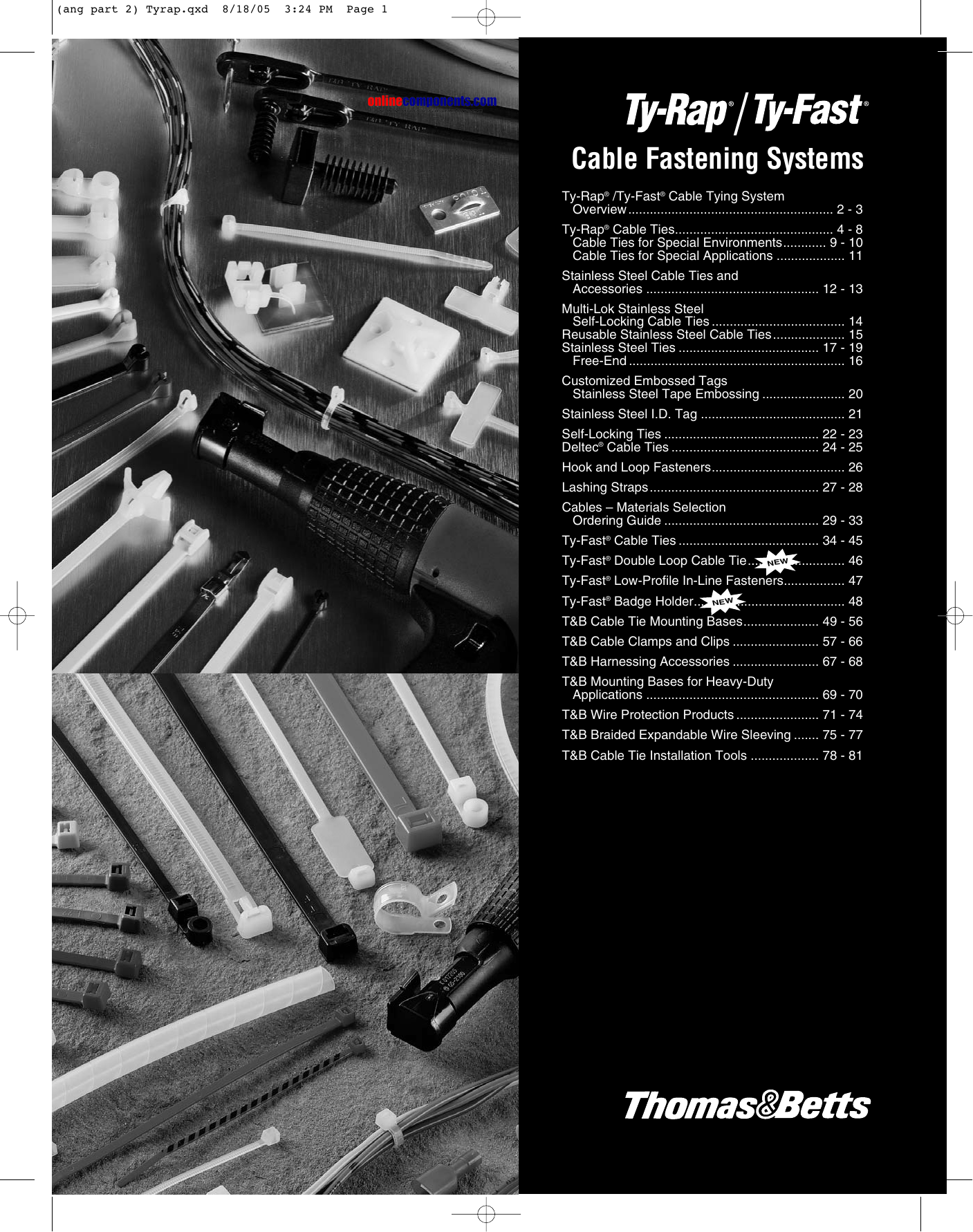 hight resolution of cable ties