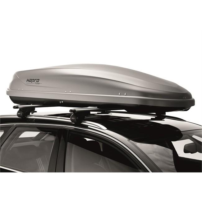porte ski et snowboard coffre de toit pour skis coffre de toit hapro traxer 6 6 gris 410 l