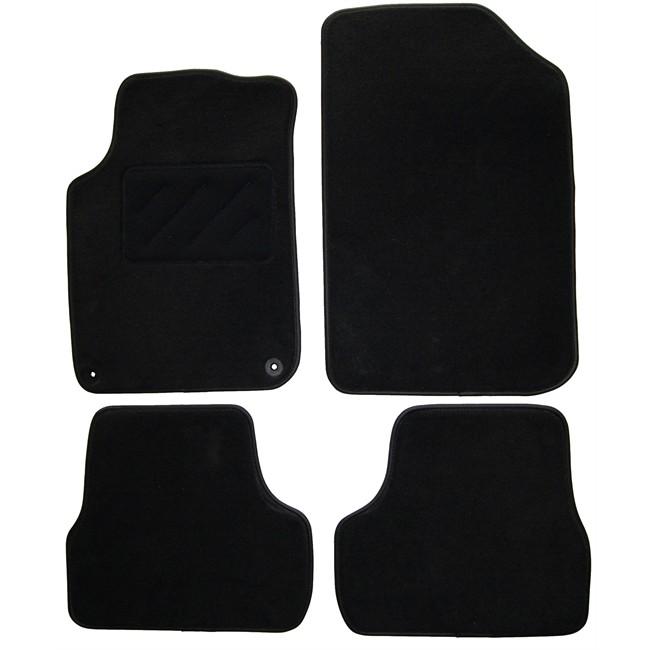 tapis tapis sur mesure jeu complet de tapis sur mesure noir en moquette norauto premiumdescription