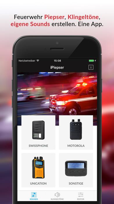 iPiepser - Feuerwehr Piepser Sounds & Klingeltöne Screenshot