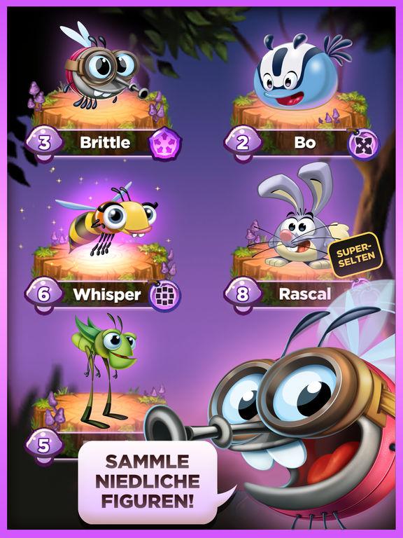 Best Fiends Puzzle-Abenteuer Screenshot