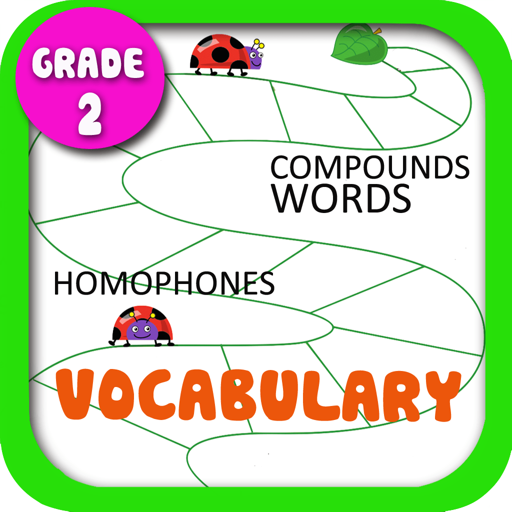 English Vocabulary Worksheets Grade 2