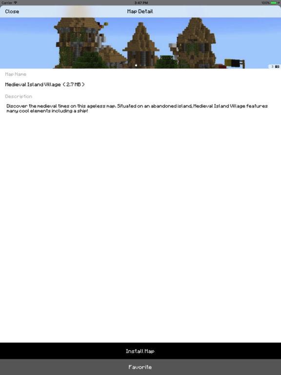 City Maps for Minecraft PE Screenshot