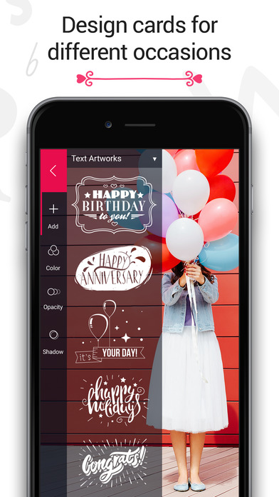 Fontmania - Add Artworks & Text to Your Photos! Screenshot