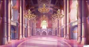 club anime winx palace royal prom ballroom night ball domino background castle backgrounds fantasy throne user animation wattpad episode pink
