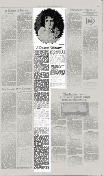 Times News Obituaries