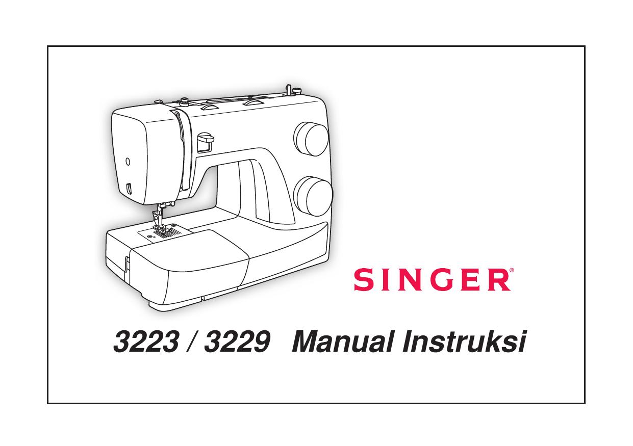 Manual Instruksi 3223 / 3229