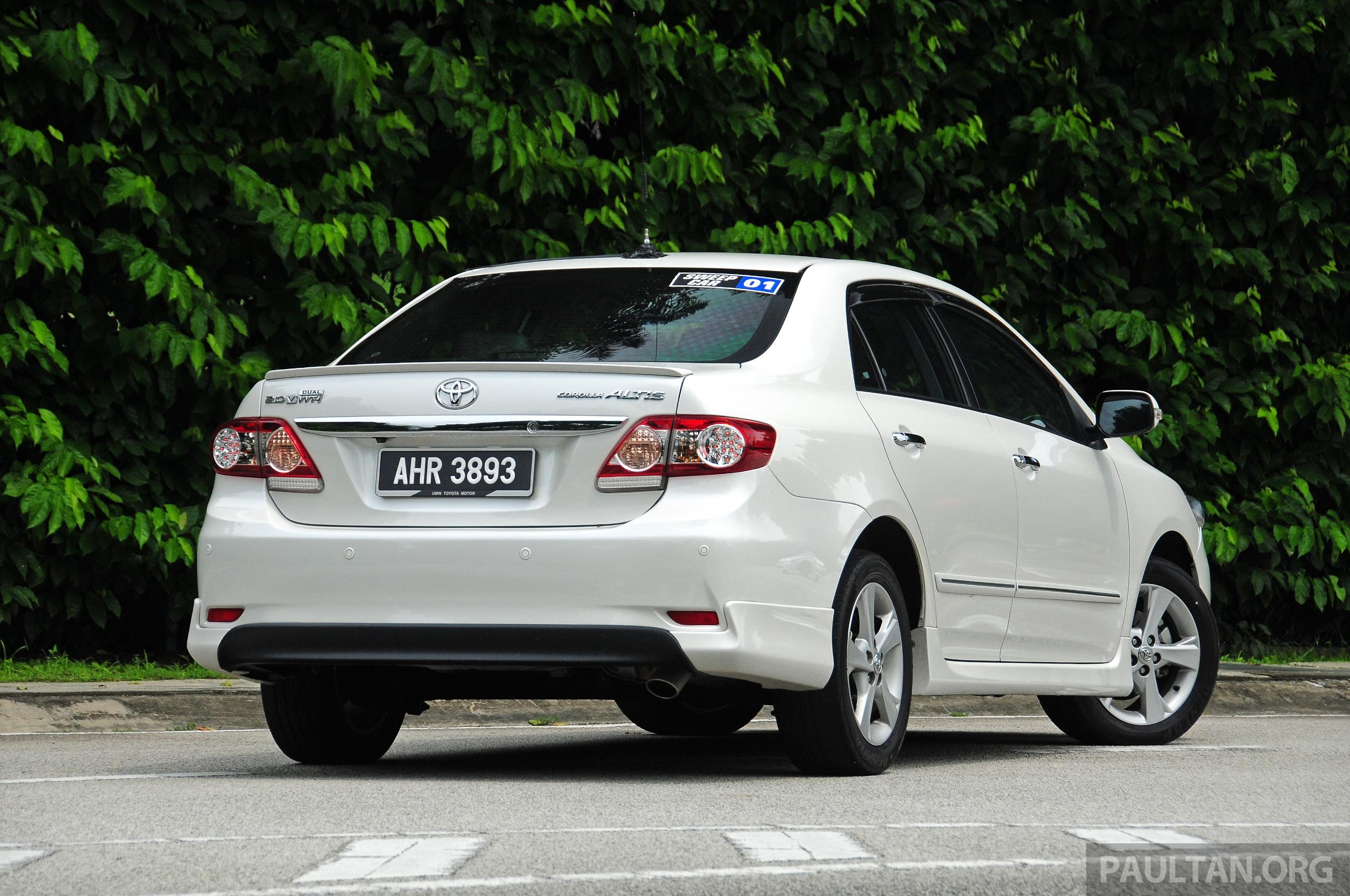 all new corolla altis spesifikasi grand avanza veloz 1.3 2013 autos post