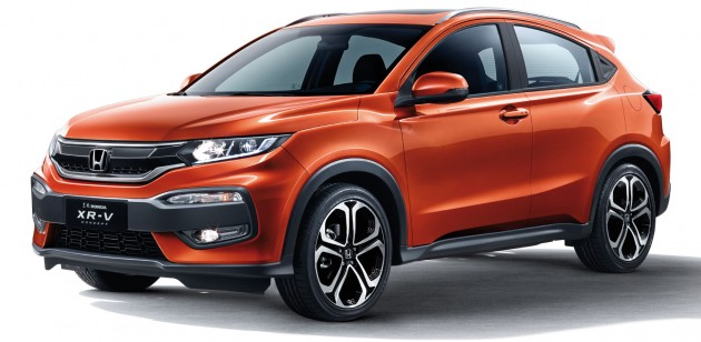 Honda XR V Chinas HR VVezel Gets Its Own Looks