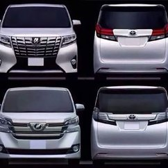 All New Alphard Vs Vellfire Perbedaan Grand Veloz 1.3 Dan 1.5 Toyota Leaked Debut In January