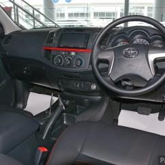Interior All New Yaris Trd Sportivo Harga Kijang Innova Venturer Gallery 2015 Toyota Hilux  More Aggressive