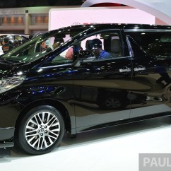 Toyota All New Alphard 2015 Kijang Innova Vs Pajero Sport Vellfire Launched In Thailand Image