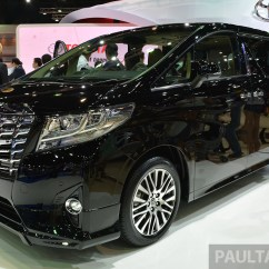 All New Toyota Vellfire 2017 Grand Avanza Veloz 2016 2015 Alphard Launched In Thailand Image