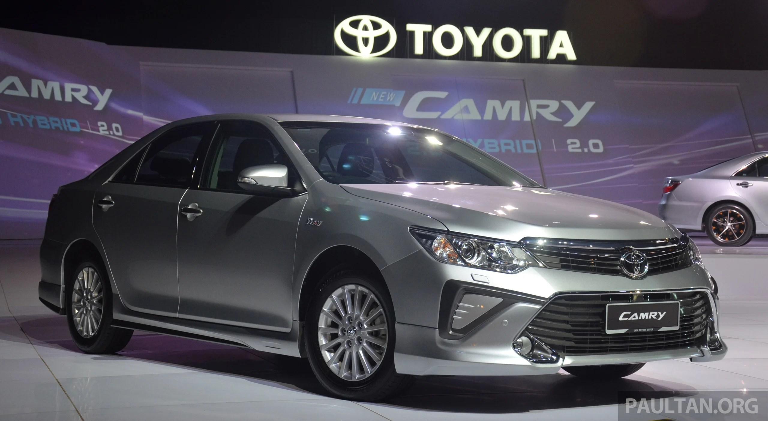 all new toyota camry malaysia interior grand avanza 1.3 g a/t 2015 launched in  6 spd 2 0e
