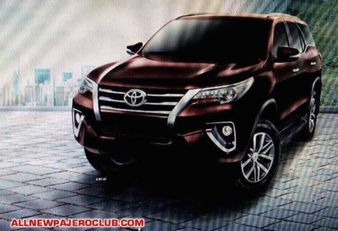 2016 toyota fortuner first exterior and interior pics image 358433