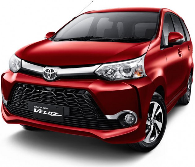 grand new avanza veloz 1.5 2018 toyota yaris trd merah 2015 officially launched in indonesia