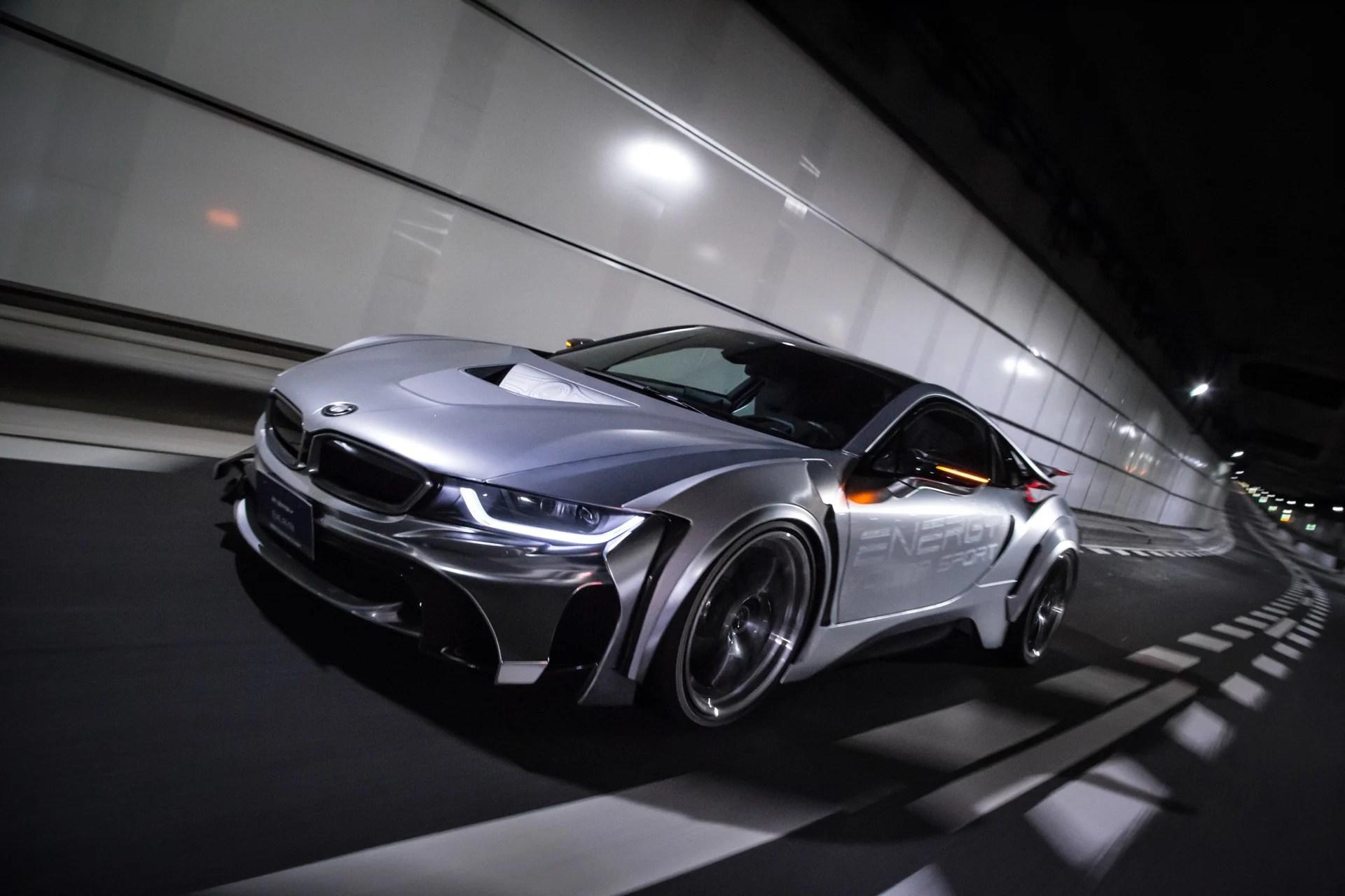BMW I8 Receives Energy Motor Sport Bodykit Package Paul