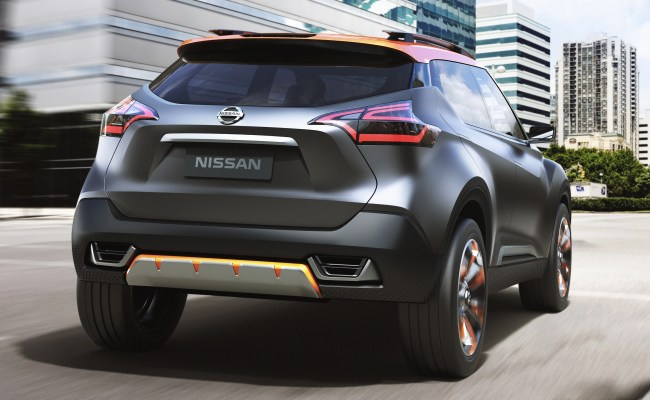 Nissan Kicks New Global Crossover To Debut This Year
